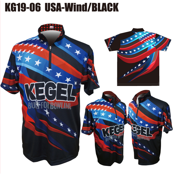 KEGEL KG19-06(USA-Wind/BLACK)(ネームあり)